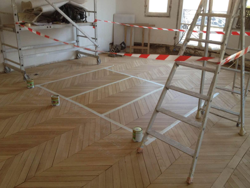 Renovation de parquet à Paris 16