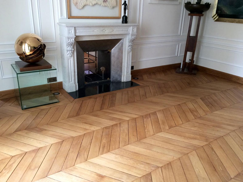 Restauration de parquet à Paris 16