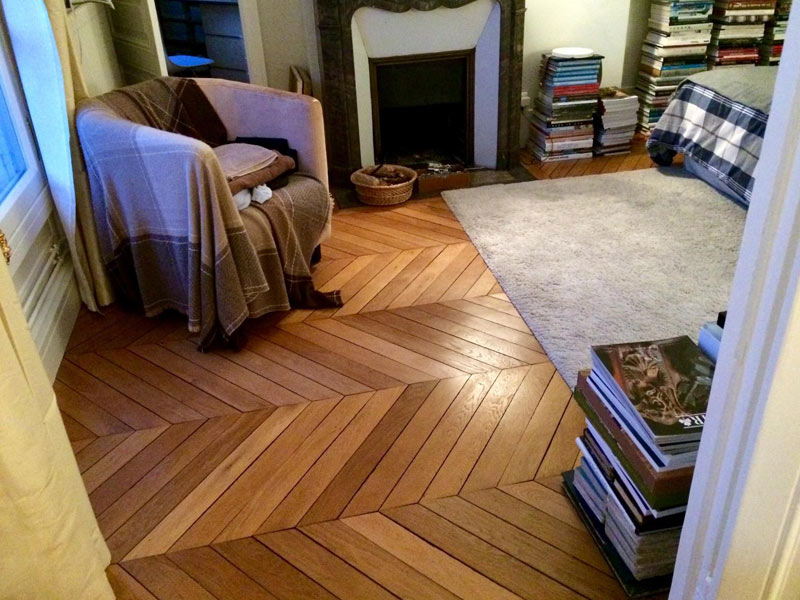 Restauration de parquet à Paris 15